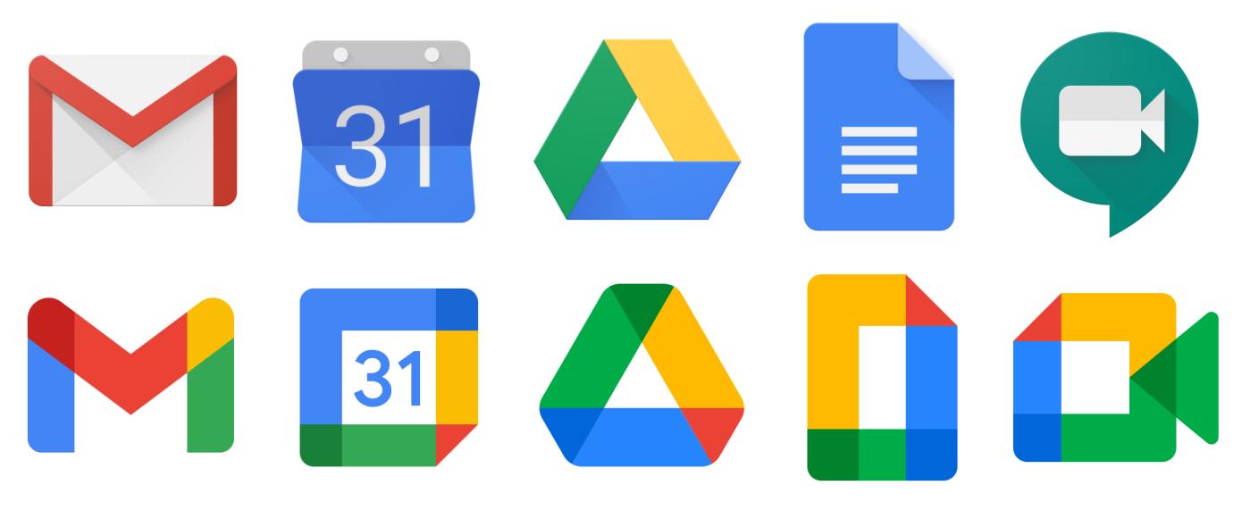 İşte Google'ın yeni logoları!
